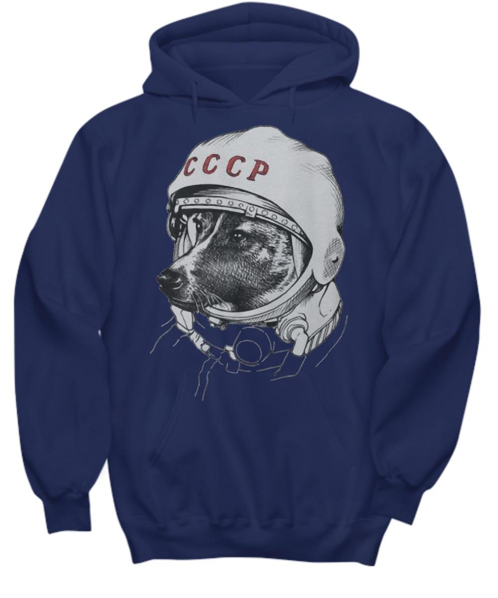 Laika space traveler hoodie