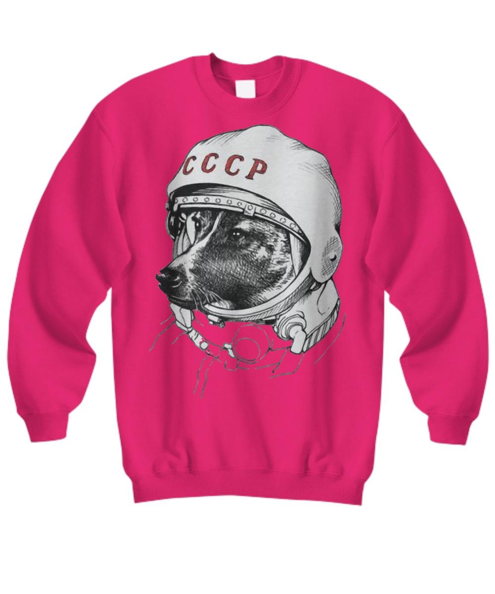 Laika space traveler sweatshirt