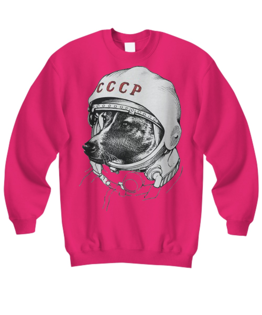Laika space traveler sweatshirt