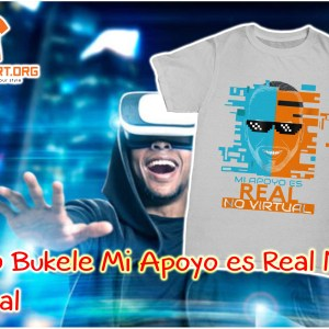 Nayib Bukele Mi Apoyo es Real No Virtual shirt