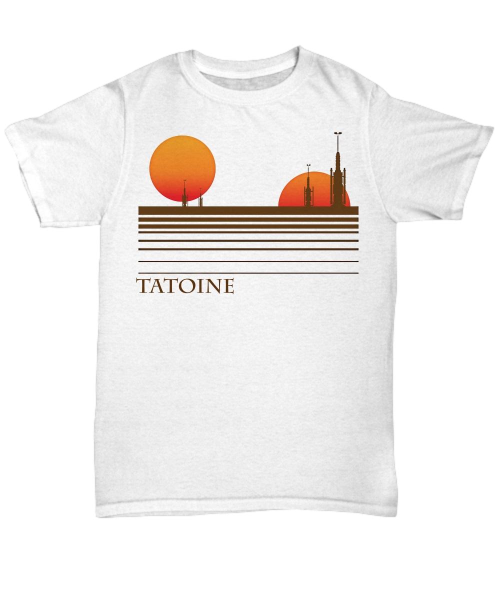 Visit tatooine classic shirt