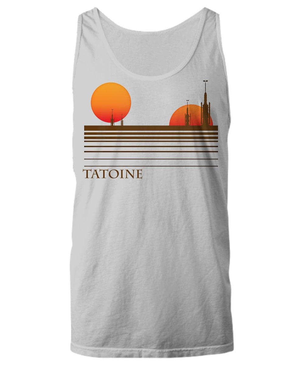 Visit tatooine tank top