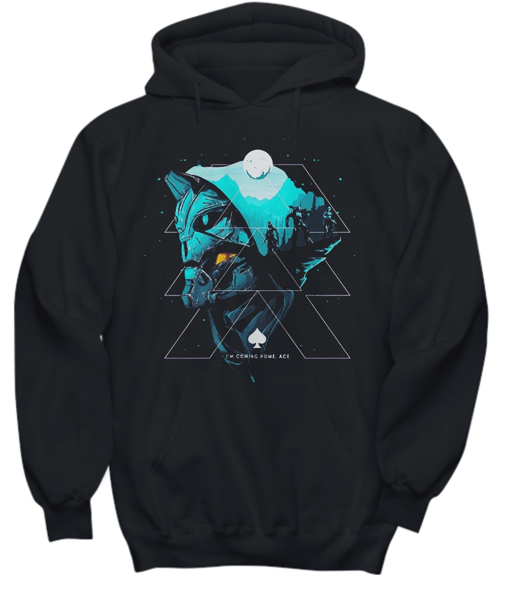 Guardian hunter I am coming ace Hoodie