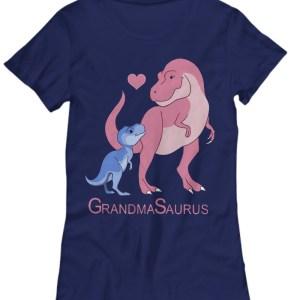 Pink grandma saurus and her child Shirt