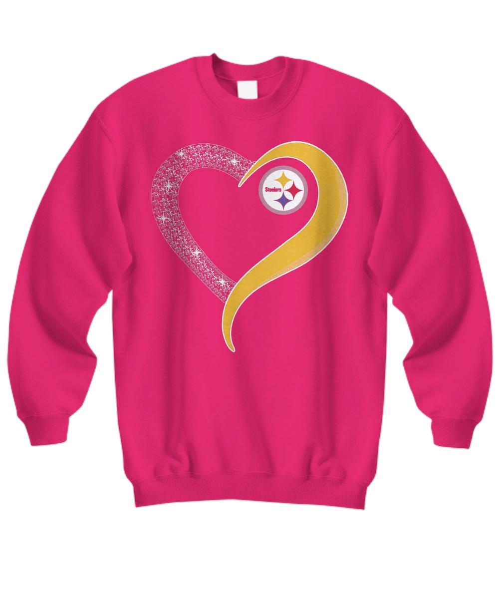 Pittsburgh Steelers Heart Love sweatshirt