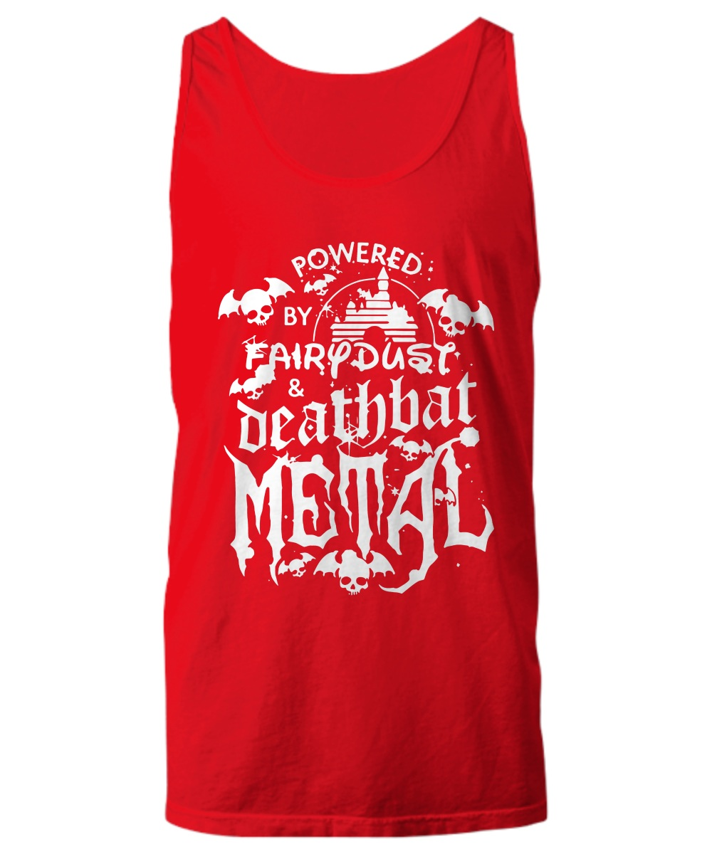 Power by fairy dust and deathbat metal Tank top