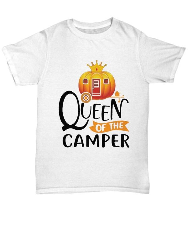 Queen Of The Camper Pumpkin Camper Halloween shirt