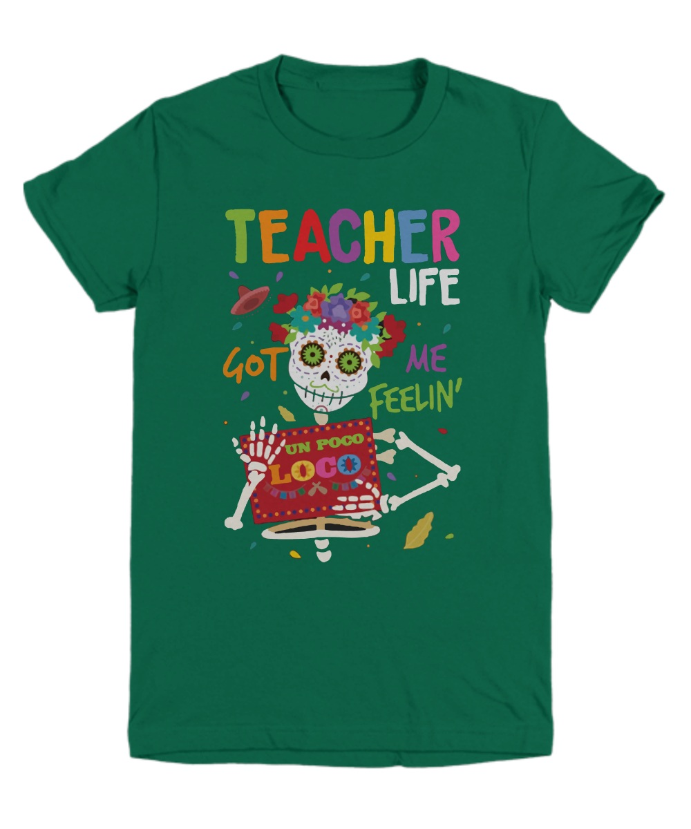 Skeleton teacher life got me feeling un poco loco Youth