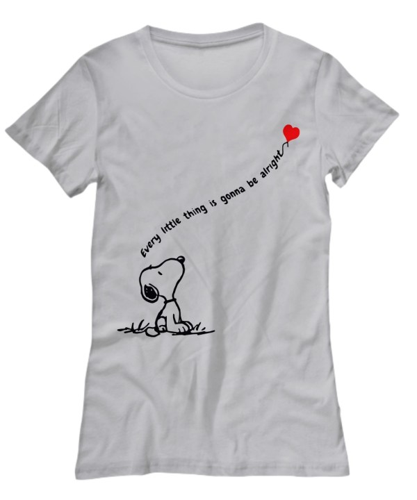 Snoopy dog every little thing is gonna be alright Shirt