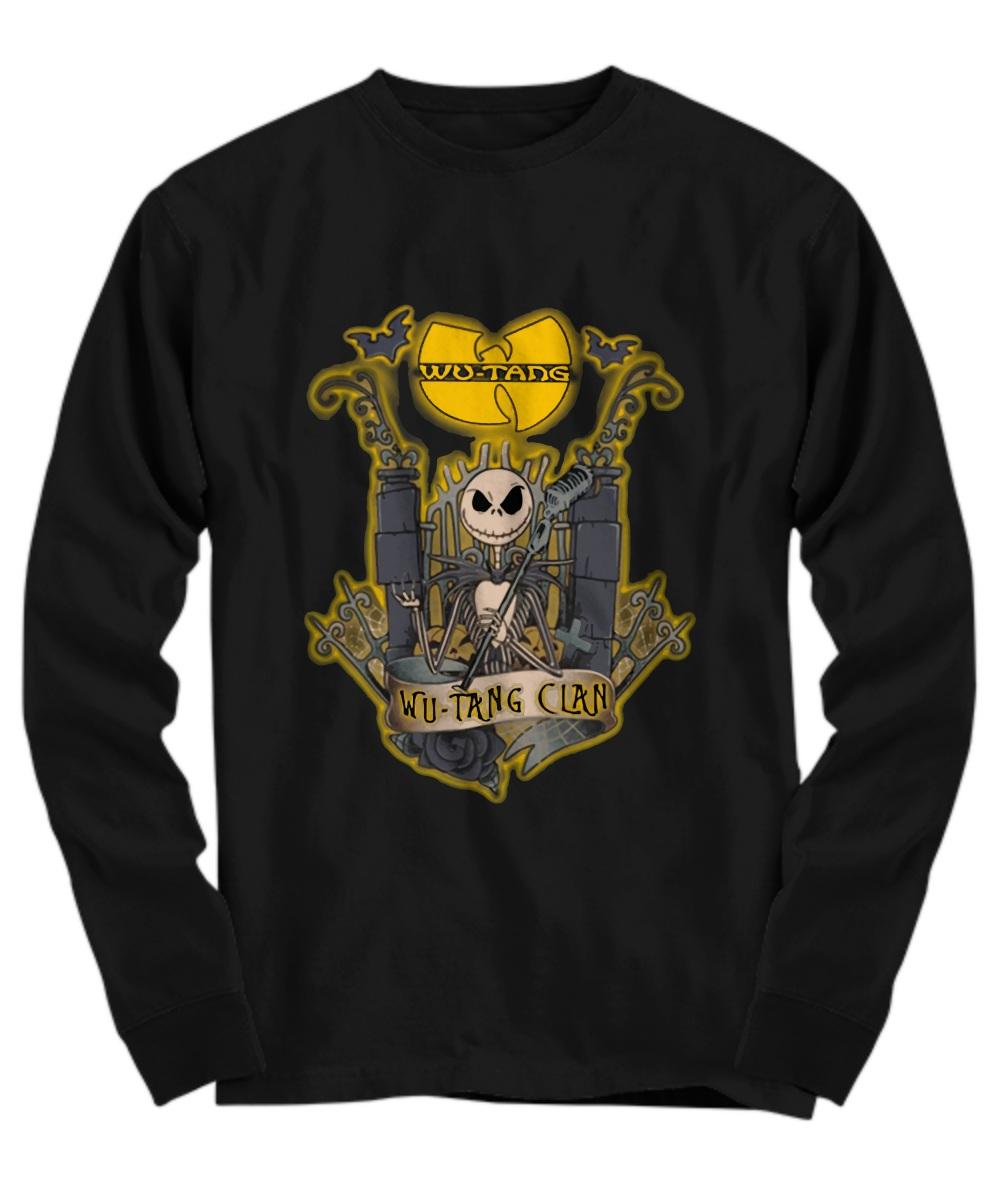Wu tang clan skeleton band halloween Long sleeve