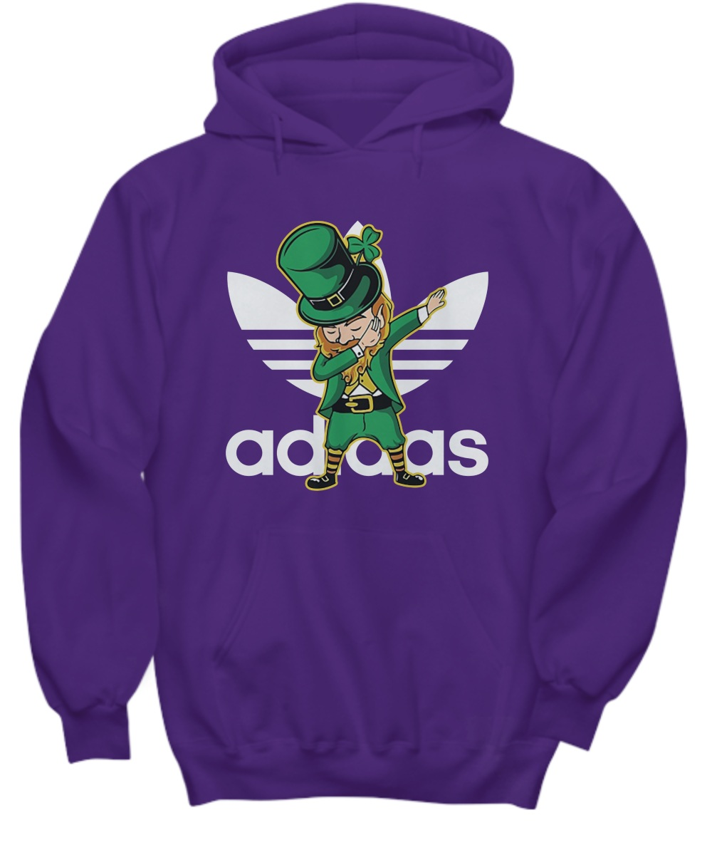 Adidas Leprechaun Dabbing Hoodie