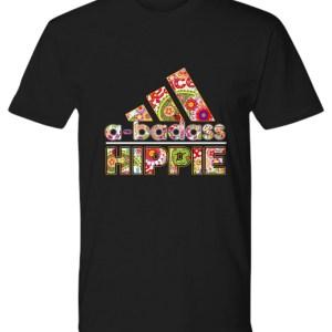 Adidas a-badass hippie shirt