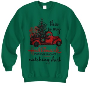 Car this is my hallmark christmas movie watching Sweatshirt