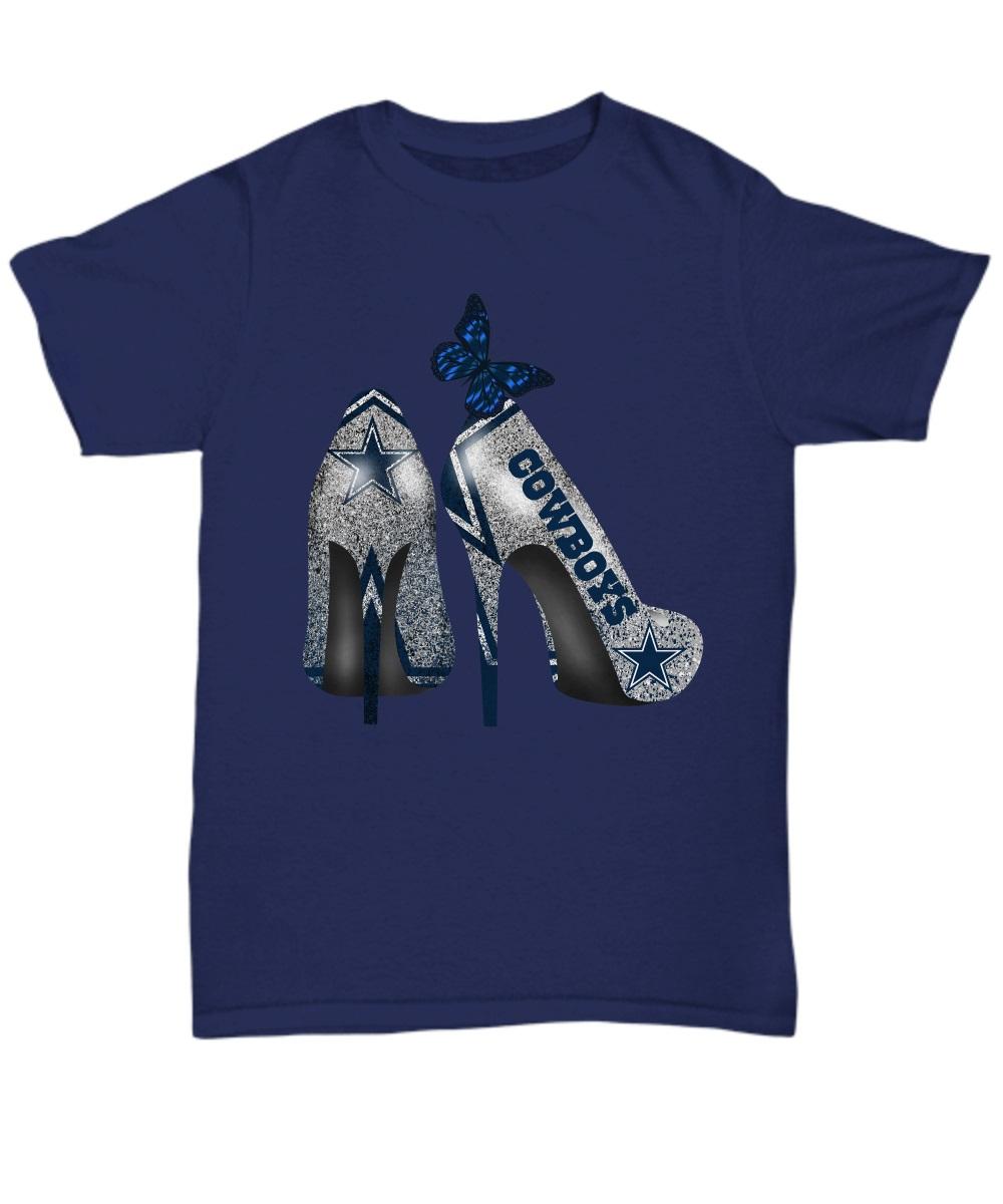 Dallas Cowboys Rhinestone High Heels classic shirt