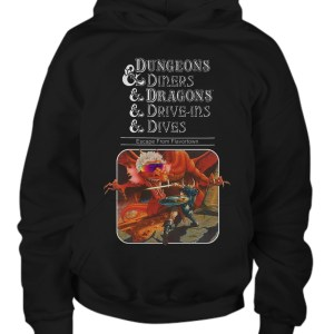Dungeons diners drive ins and dives escape from flavortown hoodie