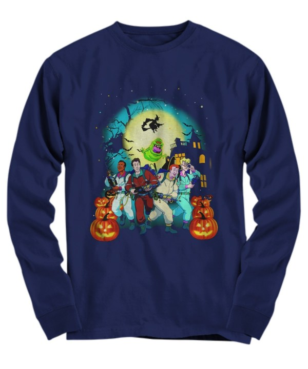 Halloween pumpkin ghostbusters long sleeve
