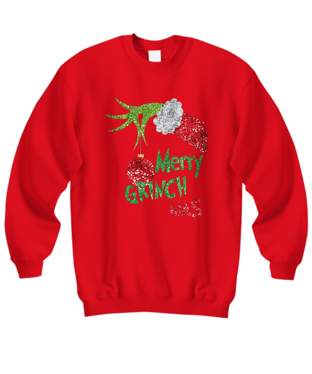 Merry Grinchmas sweatshirt