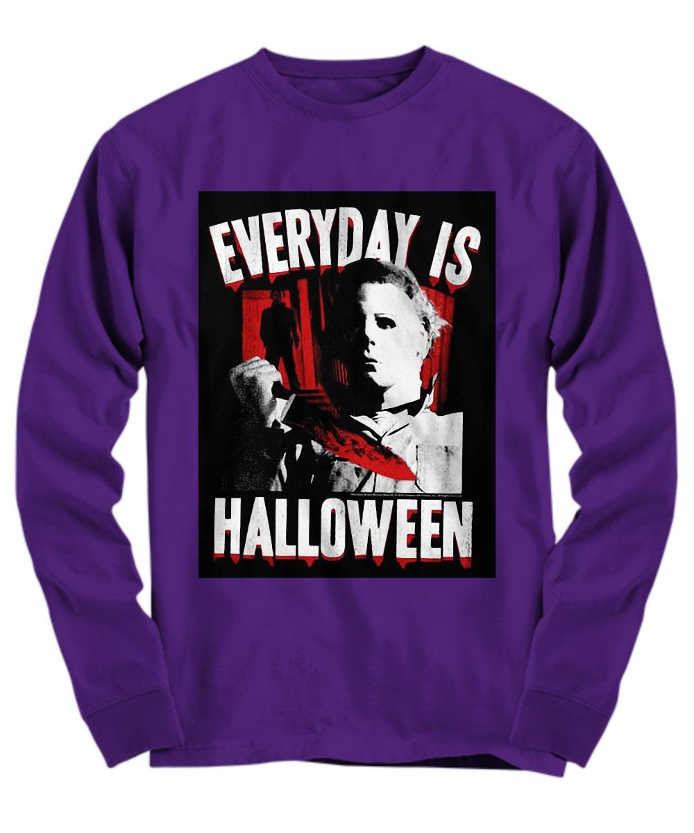Michael myers everyday is halloween Long Sleeve