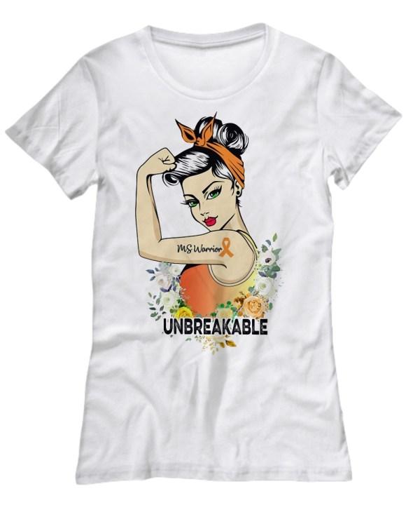 Ms warrior unbreakable shirt