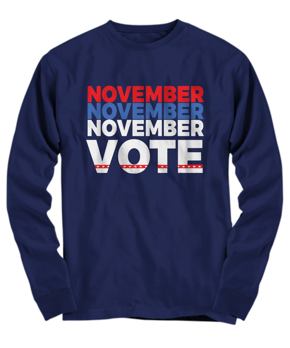 November vote long sleeve