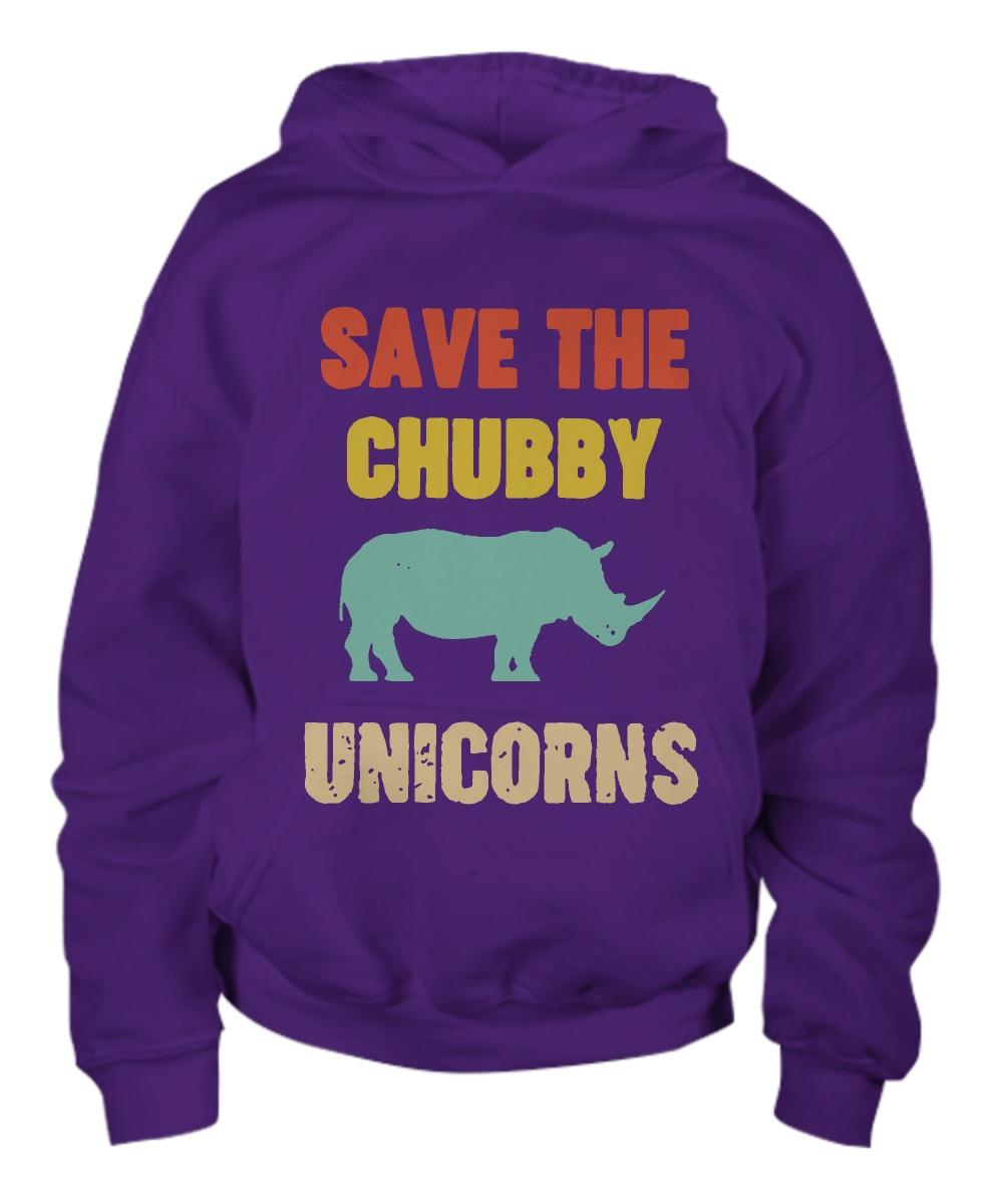Save the chubby unicorn hoodie