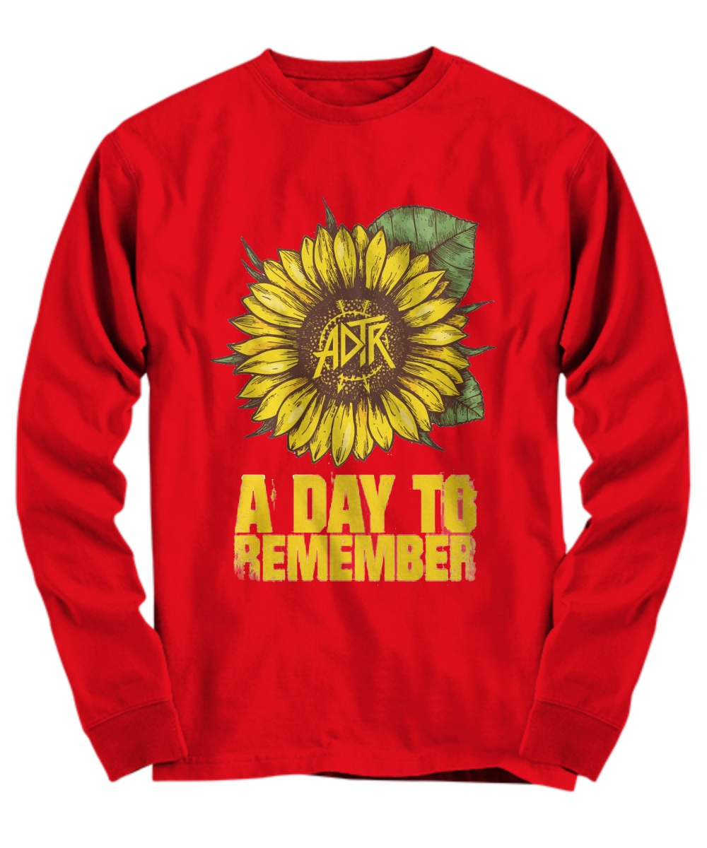 Sunflower a day to remember Long sleeve
