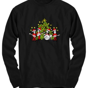 The beatles Singing Christmas Tree long sleeve