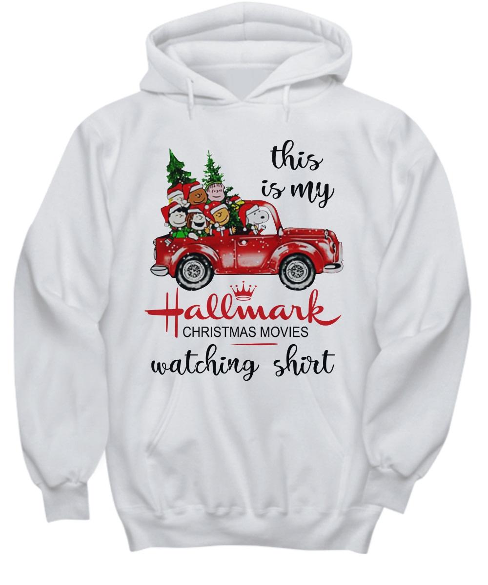 4e02bce7e This is my Hallmark Christmas movie watching Snoopy and Peanut hoodie