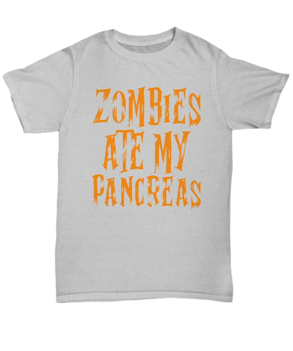 Zombie ate my pancreas Shirt