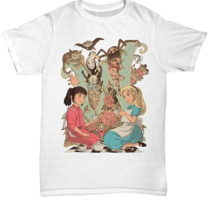 Alice In Wonderland shirt