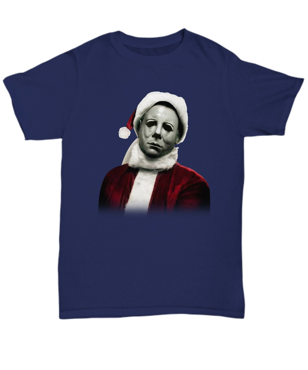 Christmas Michael Myers Santa Hat classic shirt