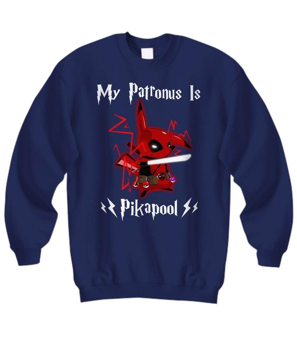 My patronus is Pikapool sweatshirt