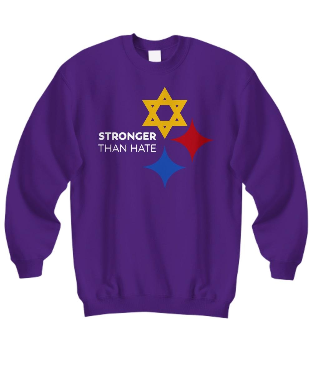 Pittsburgh Steelers Stronger Than Hate sweatshirt