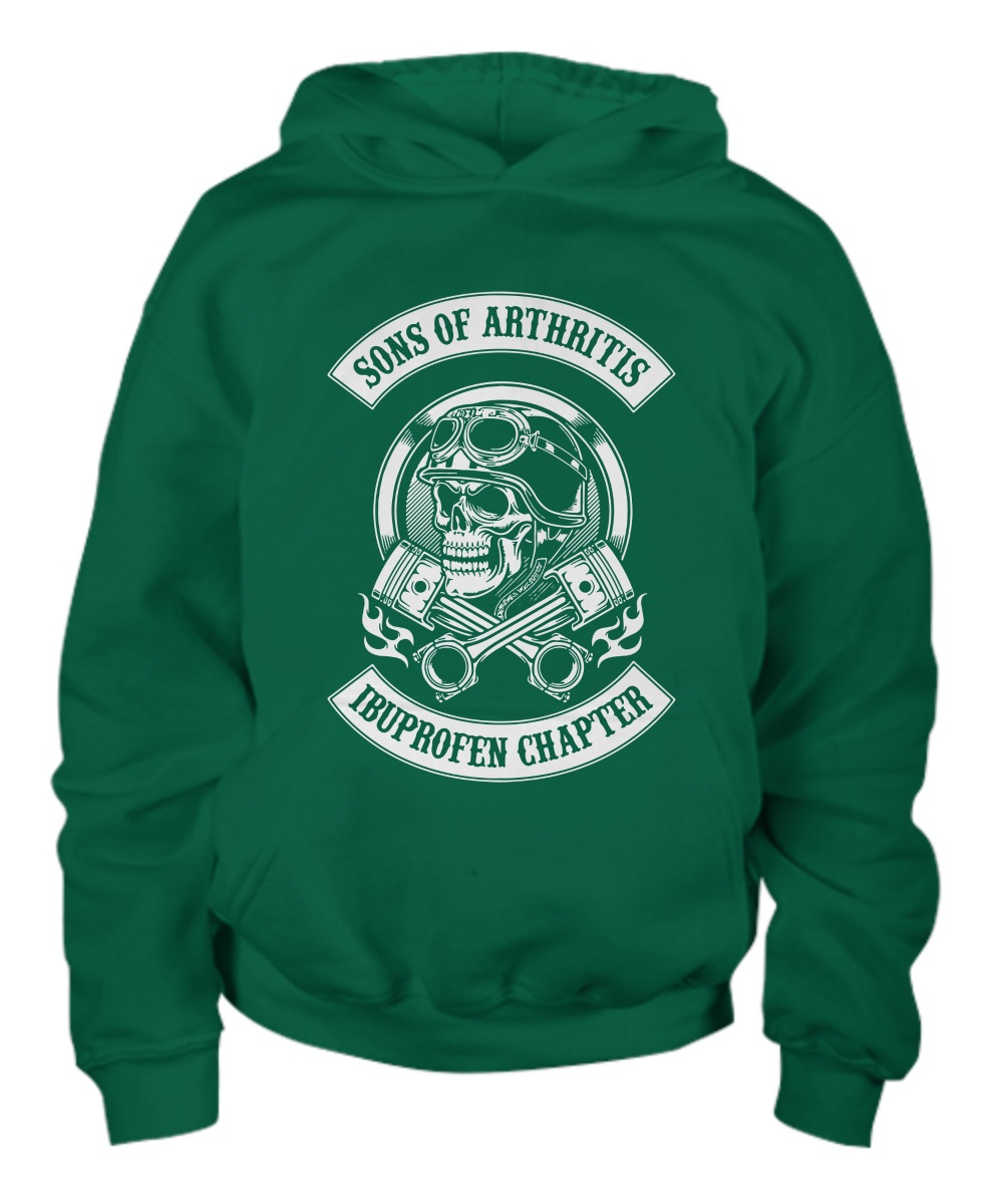 Sons of arthritis ibuprofen chapter young hoodie