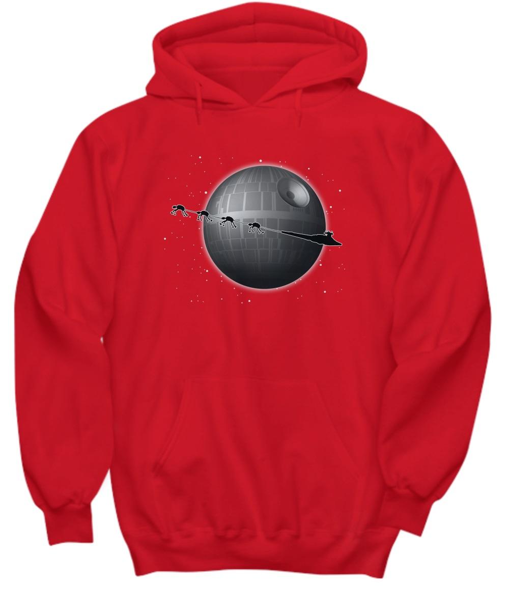 Spaceship and Jar Jar Binks Star Wars hoodie