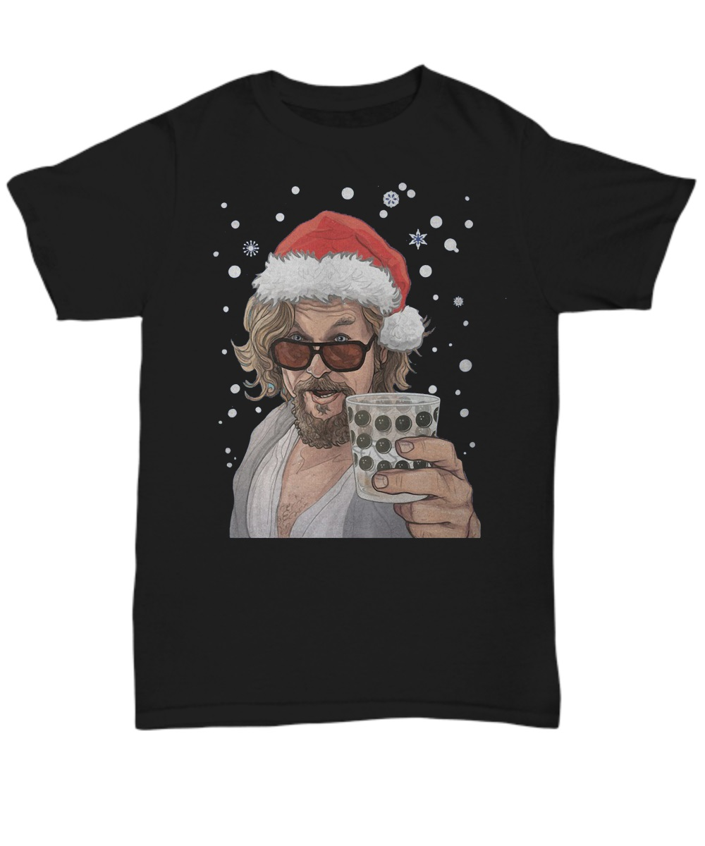 The Big Lebowski Dude Christmas classic shirt