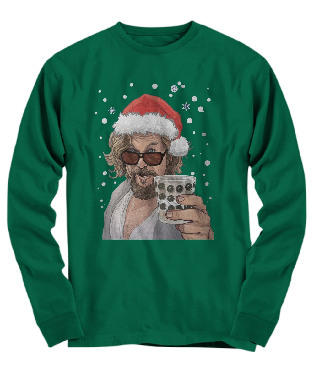 The Big Lebowski Dude Christmas long sleeve