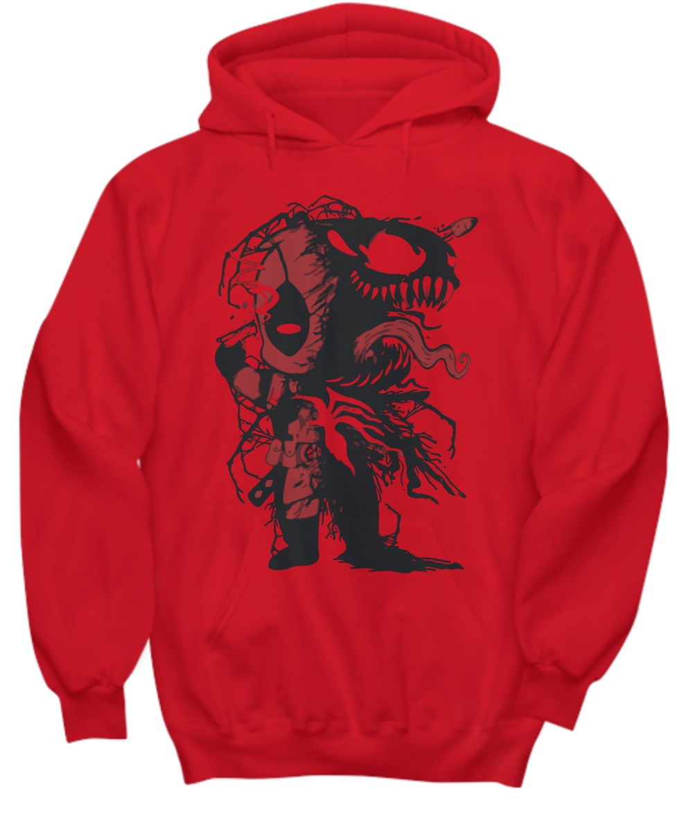 Venom and Deadpool hoodie