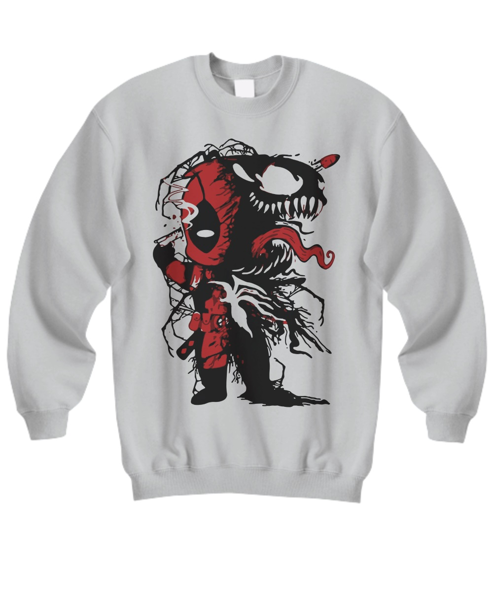 Venom and Deadpool sweatshirt