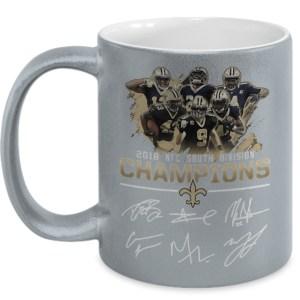 2018 nfc south division champions mug