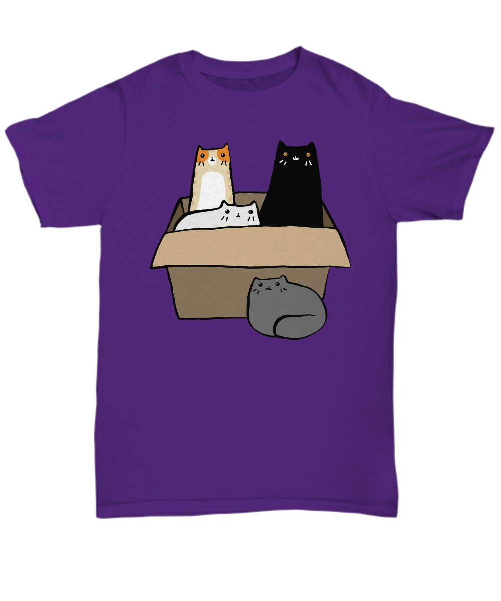 Cats in a Box classic shirt