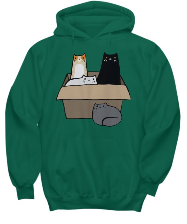 Cats in a Box hoodie