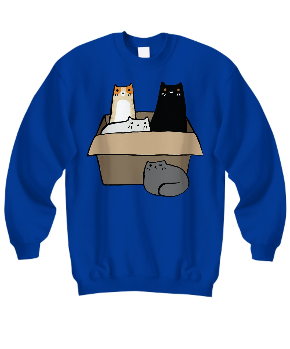 Cats in a Box sweatshirt
