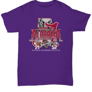 Crimson Tide Alabama Saturday November 24th 2018 shirt