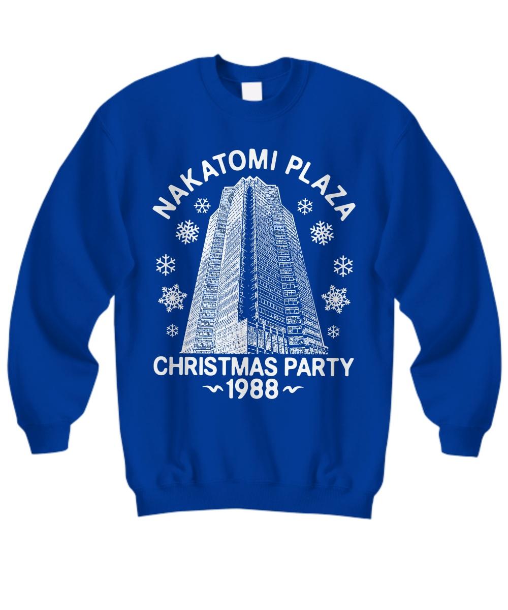 Nakatomi plaza christmas party 1988 Sweatshirt