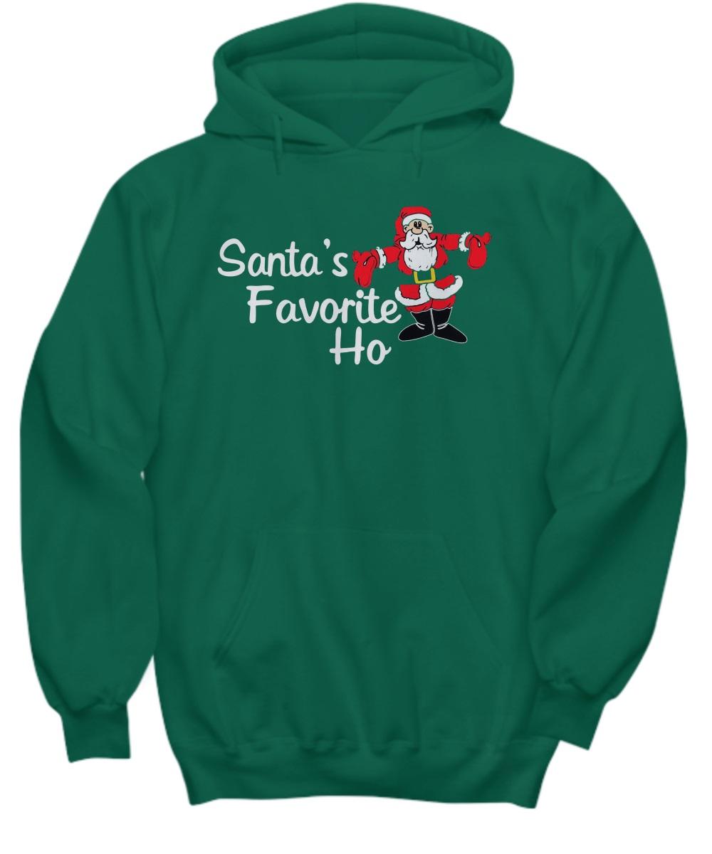 Santa's favorite ho hoodie