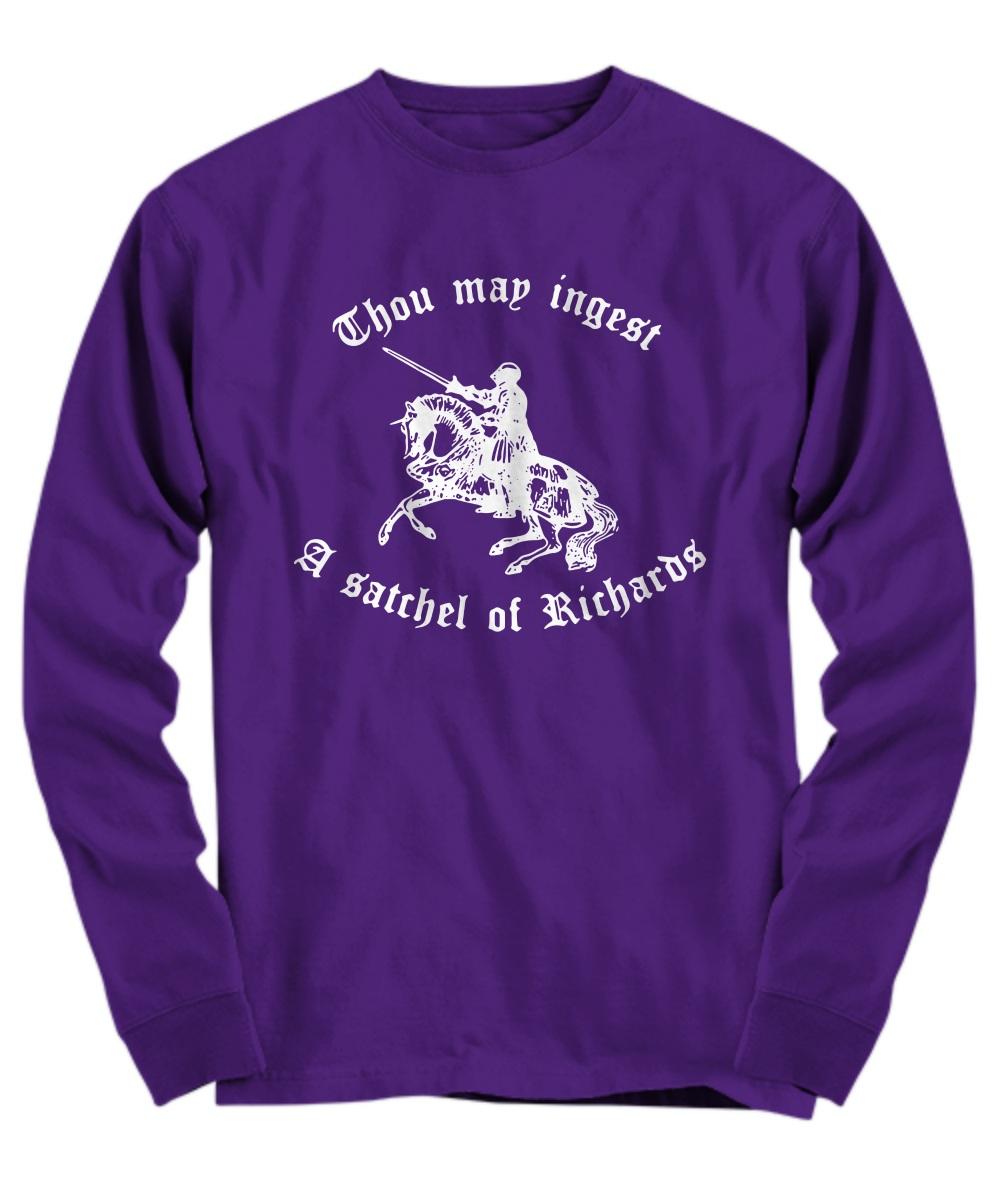 Thou map ingest a Satchel Of Richards Long sleeve