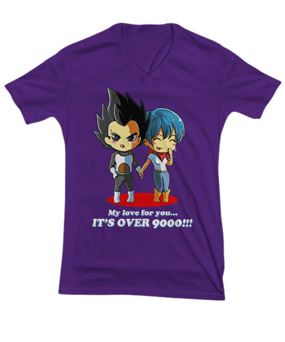 My love for you it's over 9000 v-neck