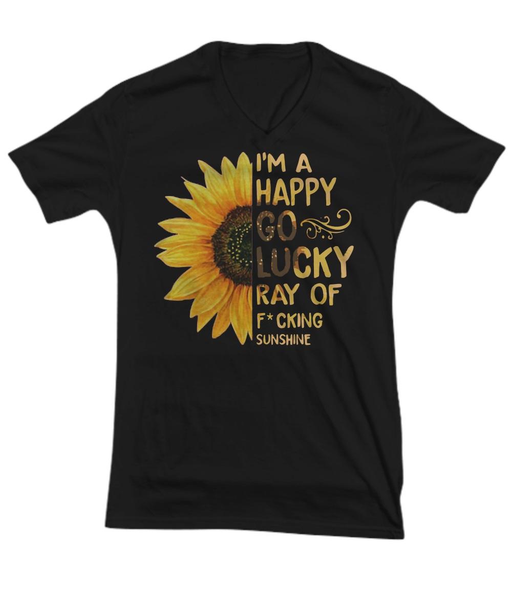Sunflower I'm a happy go lucky ray of sunshine v-neck