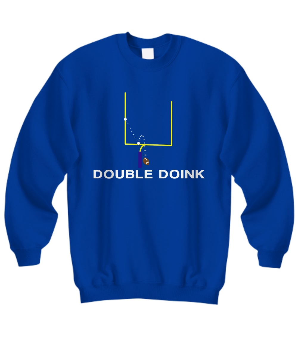 The Original DOUBLE DOINK Football sweatshirt